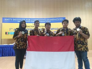 7 th Amity International Olympiad