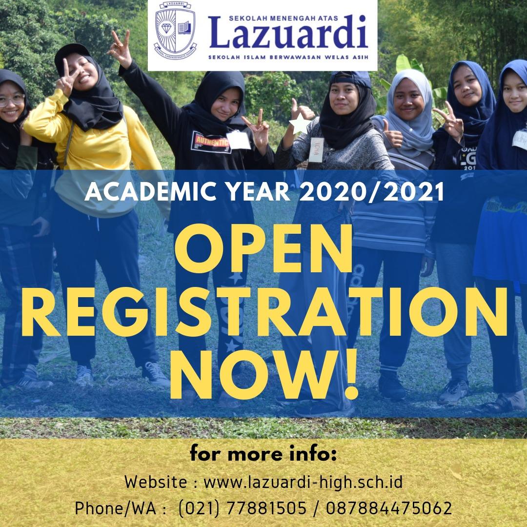 Pendaftaran Siswa Baru 2020 – 2021