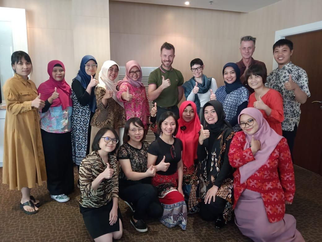 """""""Unterricht mit Jugendlichen"""" vom 18-20 November, 2019 in Bangkok, Thailand"""