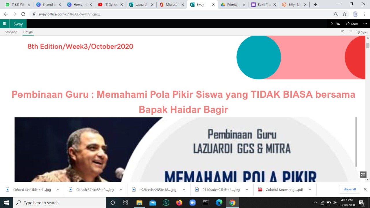 Lazuardi News : 8thEdition/Week3/October2020