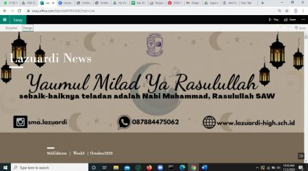 Lazuardi News : 9thEdition  |  Week5  | October 2020