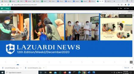 Lazuardi News: 12th Edition/Week2/December2020