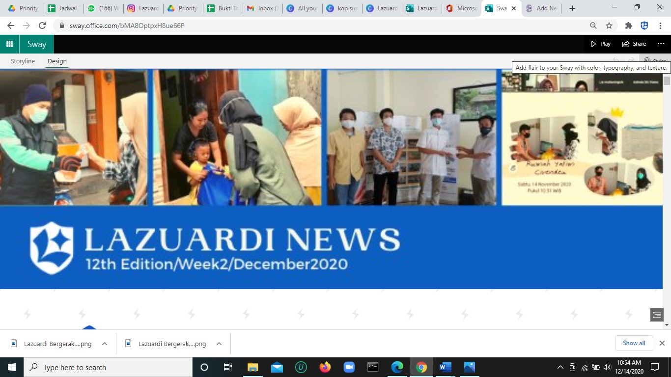 Lazuardi News: 12th Edition/Week2/December2020