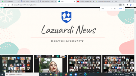 Lazuardi News: 15Ed/week2/February2021