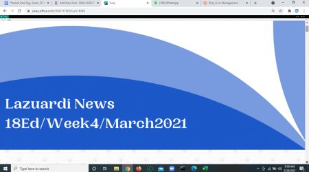 Lazuardi News Edisi 18: Week4-March2021