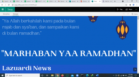 Lazuardi News Edisi 19: Week 2/April 2021